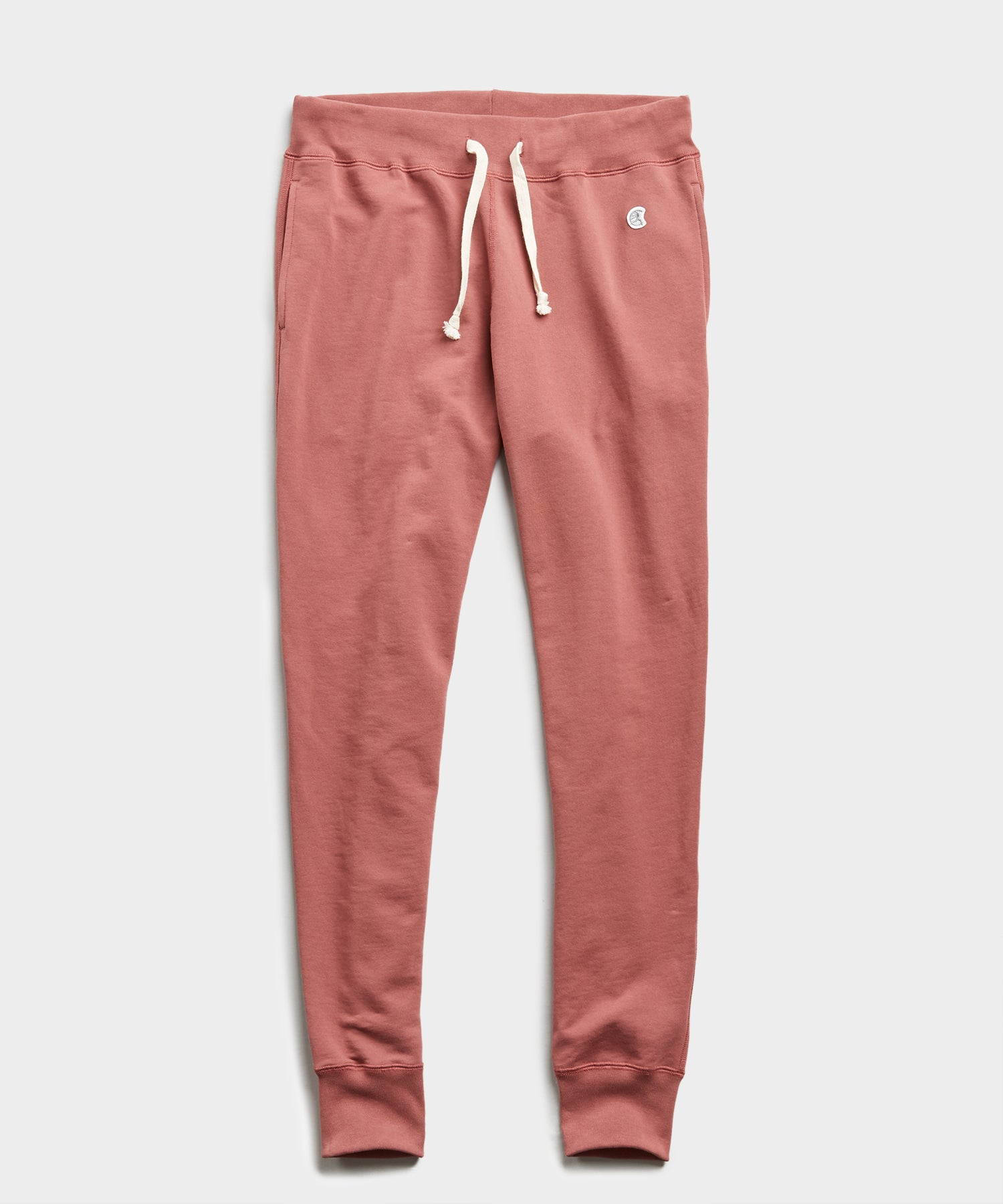 Lightweight Slim Jogger Sweatpant in Rosewine