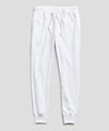 Terry Slim Jogger Sweatpant in White