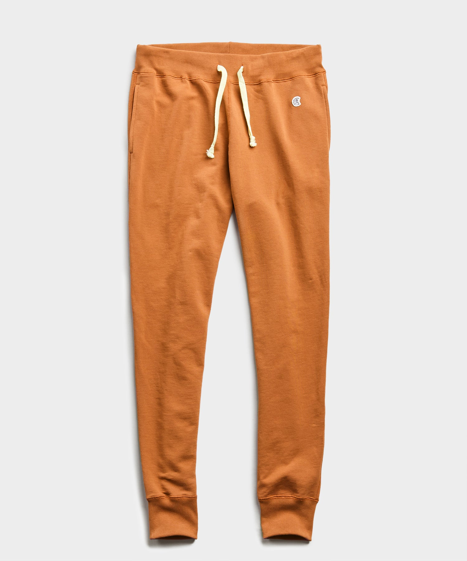 Lightweight Slim Jogger Sweatpant in Spice