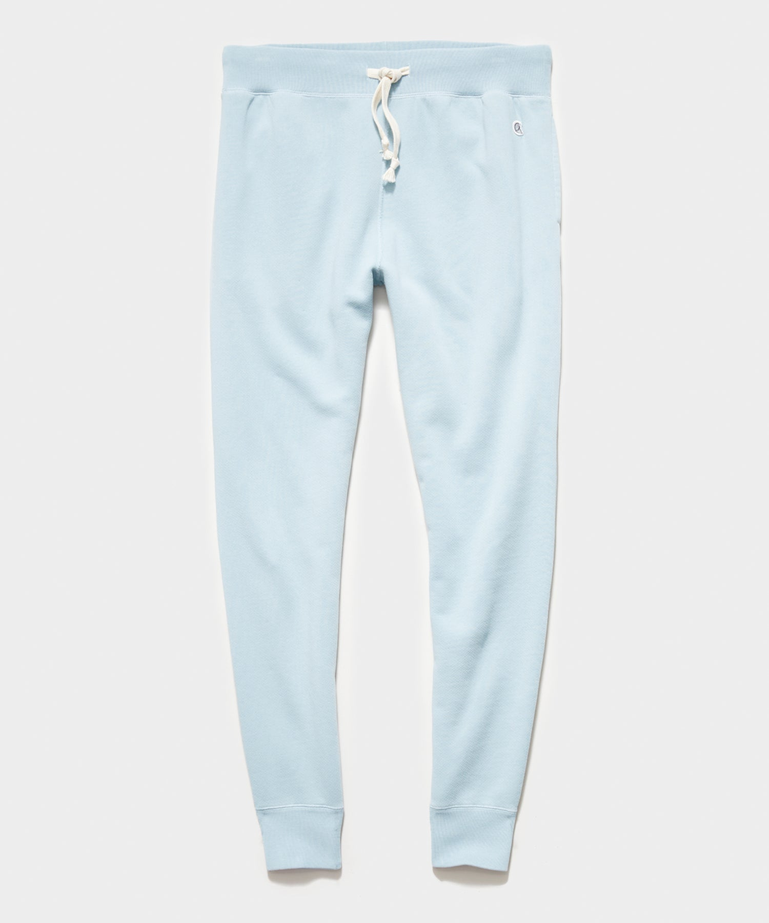 Midweight Slim Jogger Sweatpant in Powder Blue