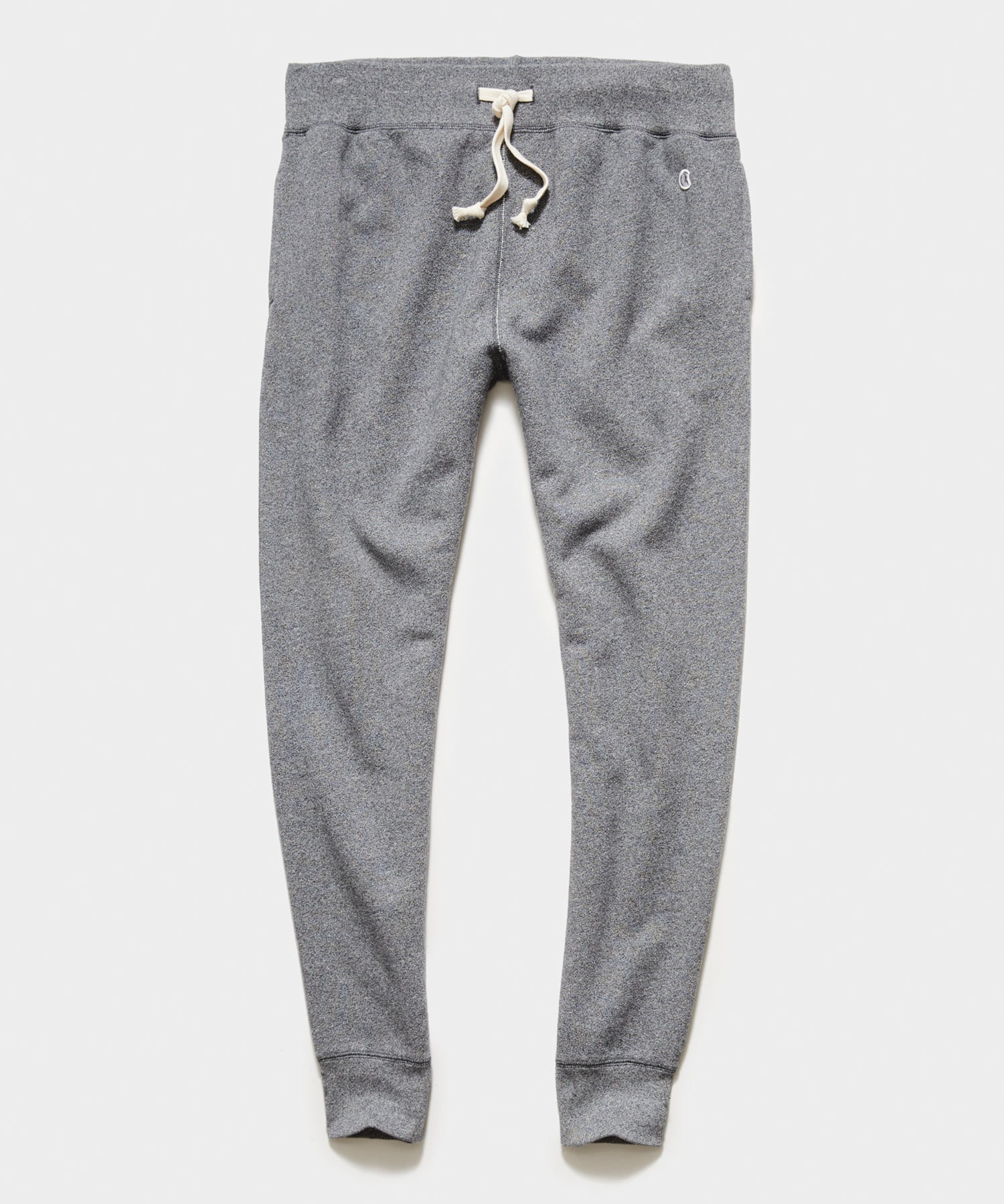 Midweight Slim Jogger Sweatpant in Salt and Pepper