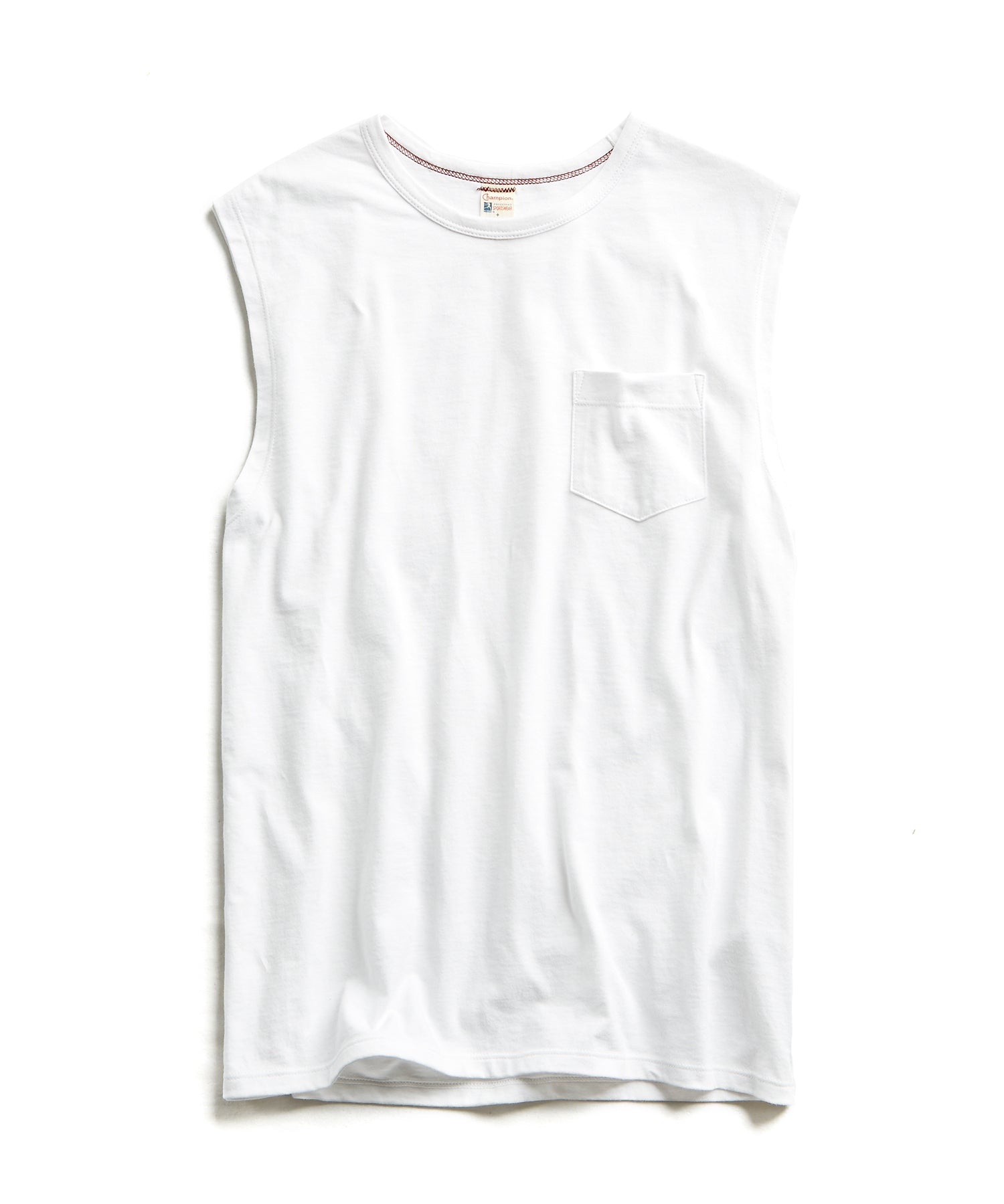 Muscle Tank in White