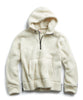 Polartec Sherpa Popover Hoodie in Cream Alternate Image