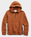 Polartec Sherpa Hoodie in Burnt Toffee