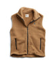 Polartec Sherpa Vest in Camel Alternate Image