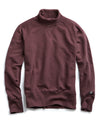 Champion Turtleneck Sweatshirt in Plum