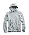 Lightweight Popover Hoodie Sweatshirt in Light Grey Mix