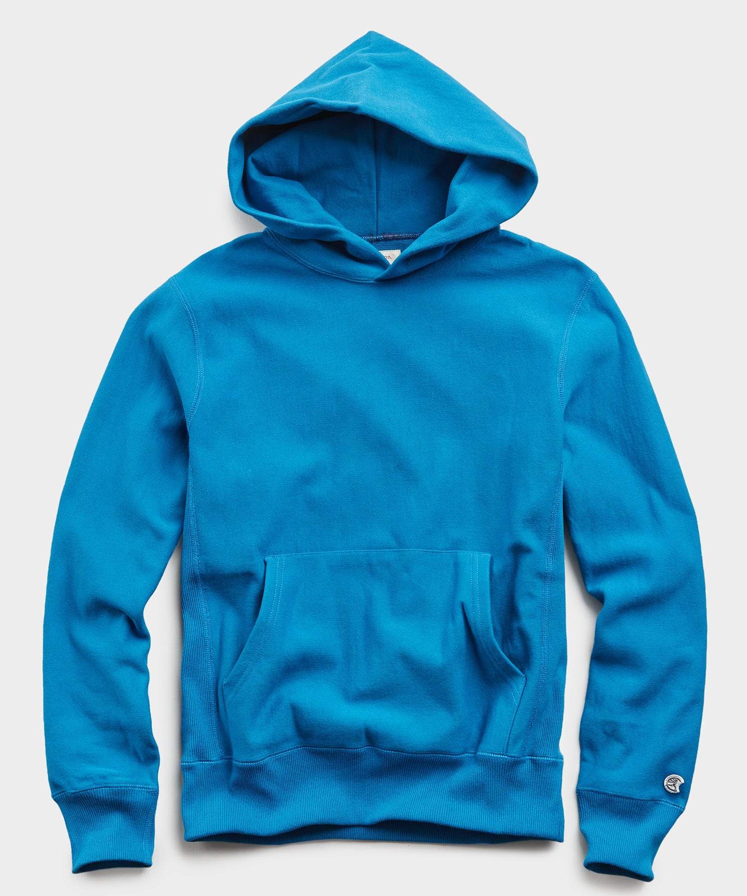 Lightweight Popover Hoodie Sweatshirt in Slate Teal