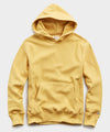 Terry Popover Hoodie Sweatshirt in Goldenrod