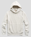 Fleece Popover Hoodie Sweatshirt in Eggshell Mix