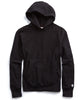 Fleece Popover Hoodie in Black Alternate Image