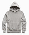 Heavyweight Popover Hoodie in Light Grey Mix