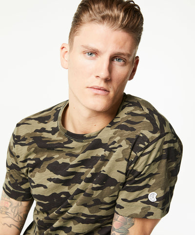 Camo Tee in Olive