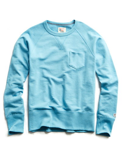 4d2a4fbb Terry Pocket Sweatshirt in Pool Blue $98 · Quick Shop. Todd Snyder +  Champion