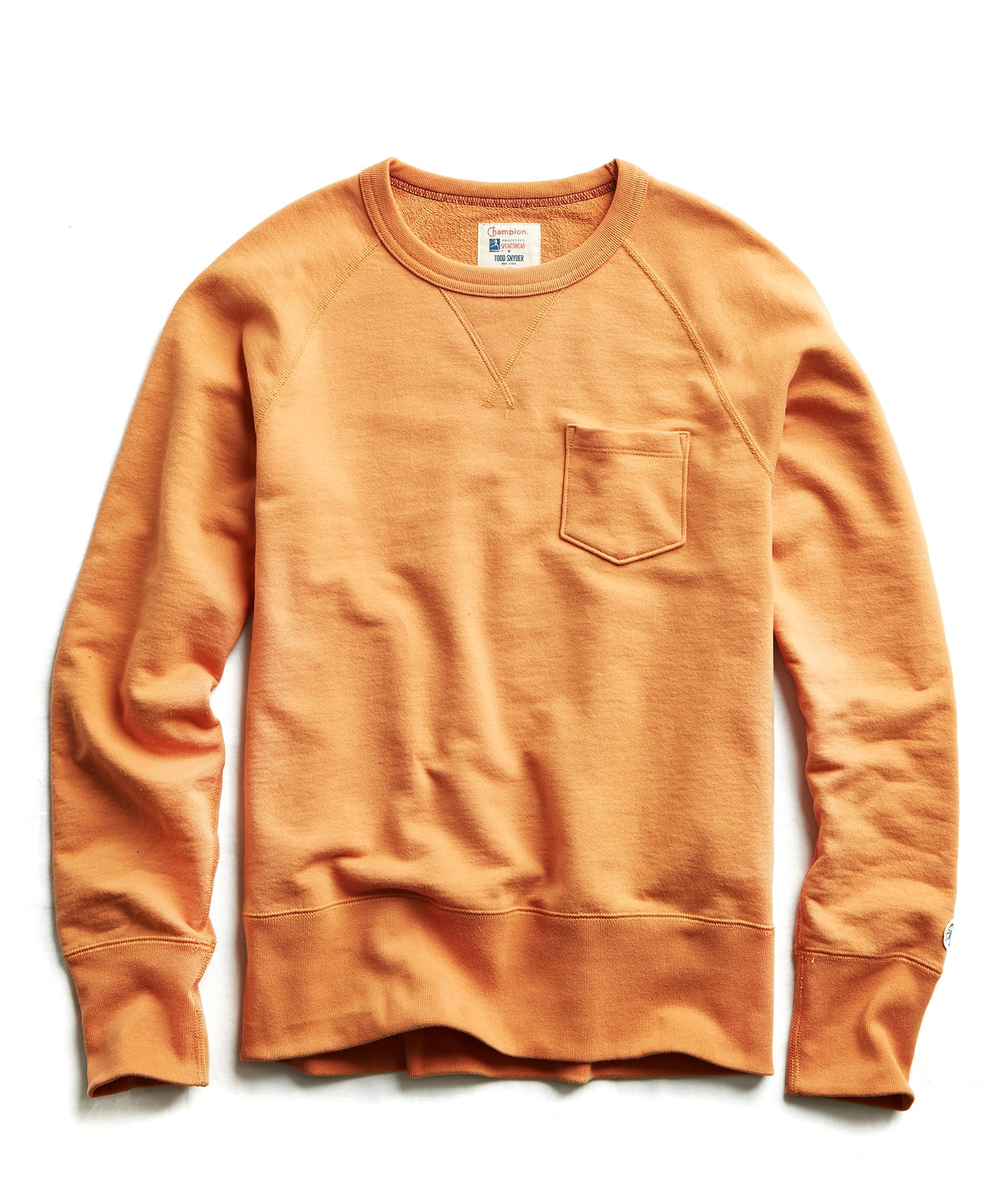 Terry Pocket Sweatshirt in Smokey Topaz