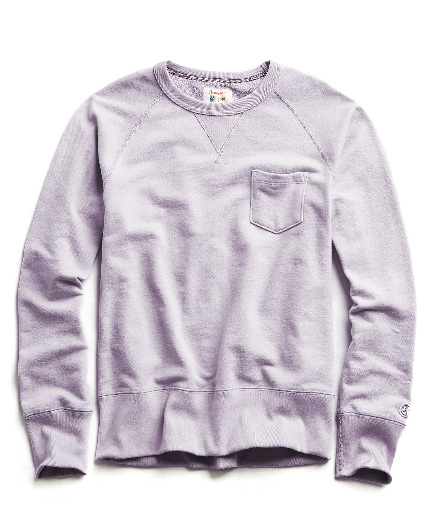 Terry Pocket Sweatshirt in Wisteria
