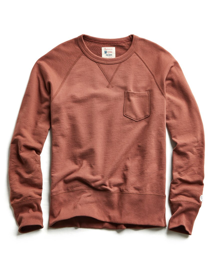 Terry Pocket Sweatshirt in Rustica