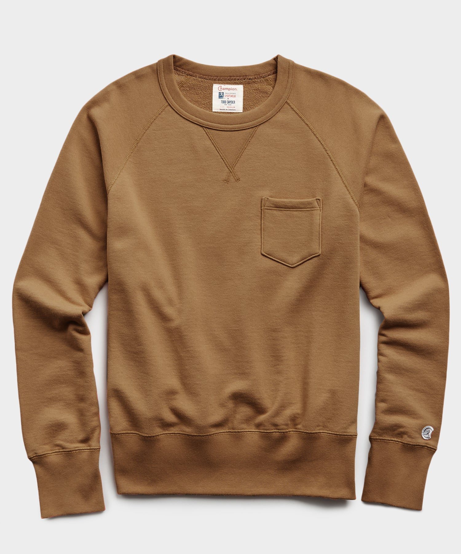 Midweight Pocket Sweatshirt in Rust