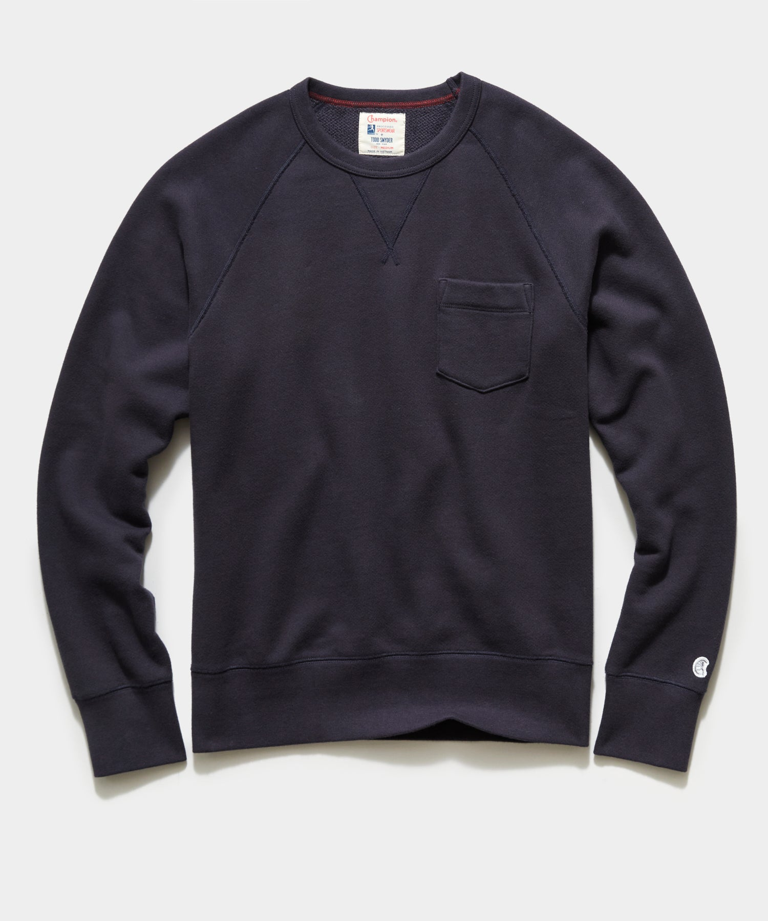 Midweight Pocket Sweatshirt in Original Navy