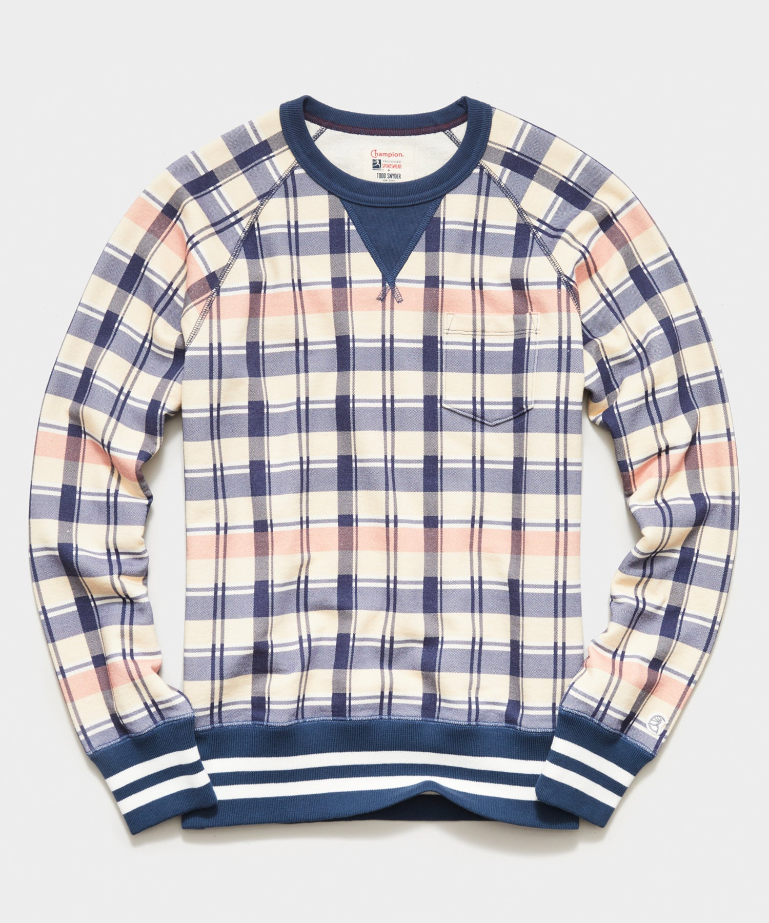 Champion Madras Pocket Sweatshirt