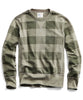 Buffalo Check Sweatshirt in Dark Driftwood Alternate Image