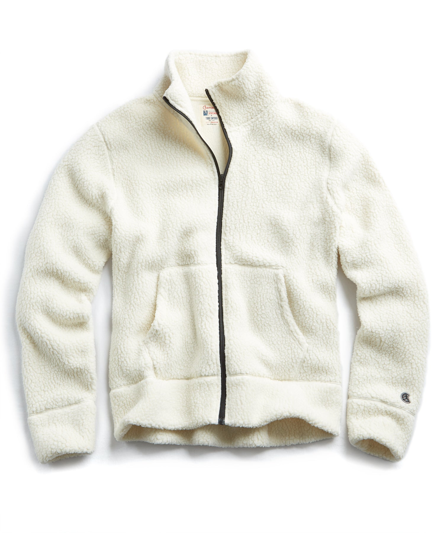 Polartec Fullzip Jacket in Cream