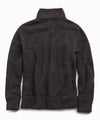Full Zip Polartec Jacket in Dark Charcoal