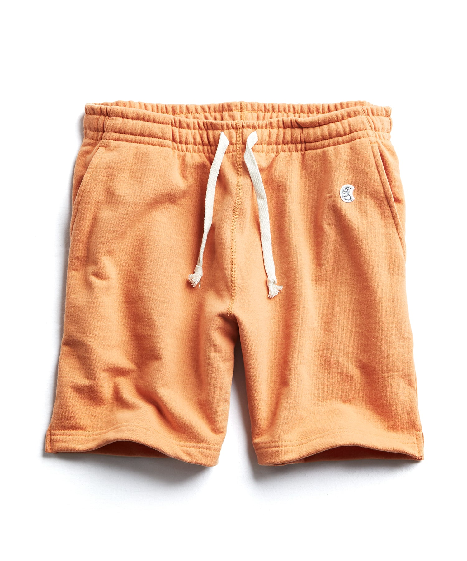 Terry Warm Up Short in Smokey Topaz