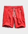 Lightweight Warm Up Short Bold Red