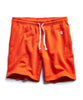 Terry Warm Up Short in Sunset Orange Alternate Image