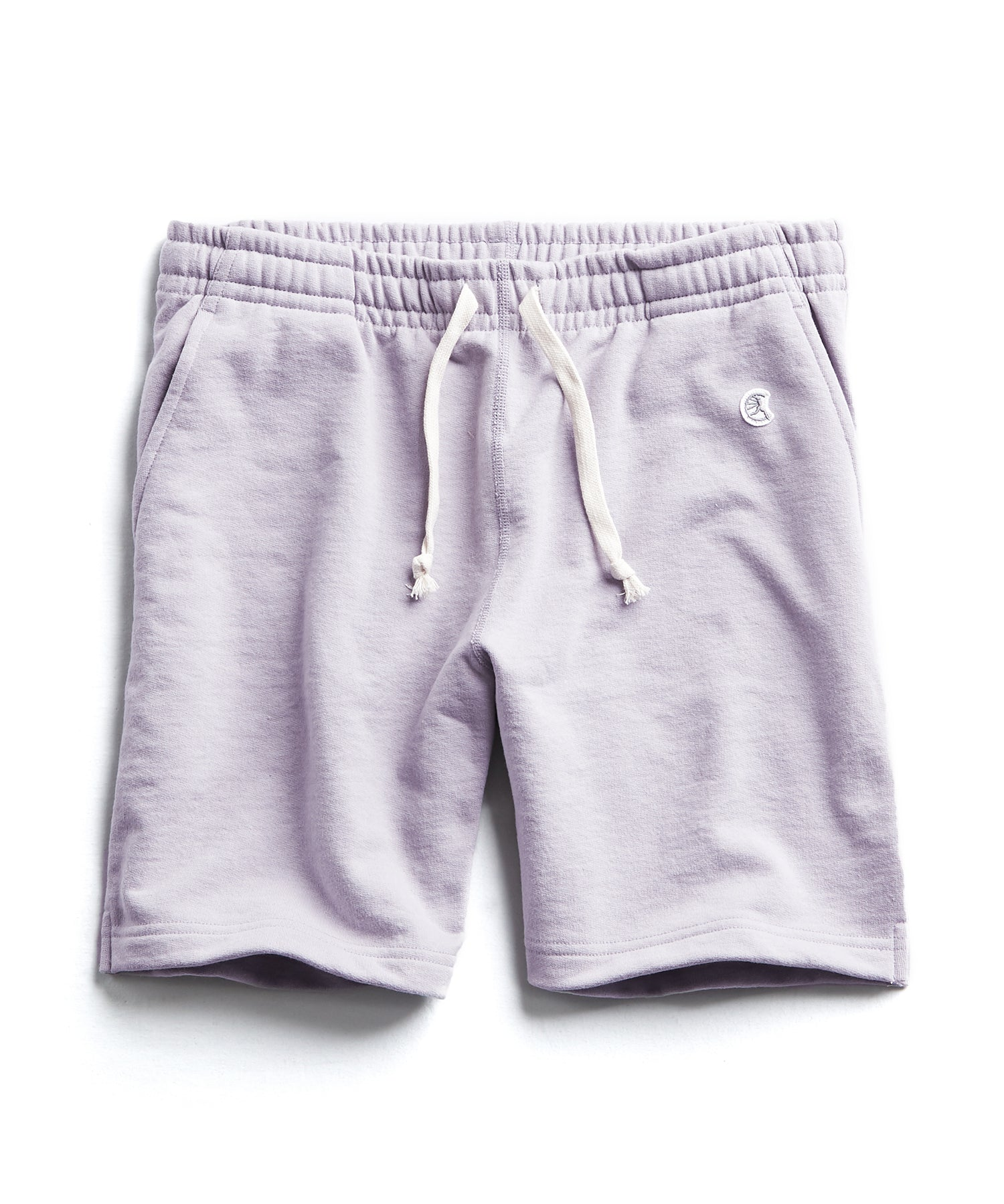 Terry Warm Up Short in Wisteria
