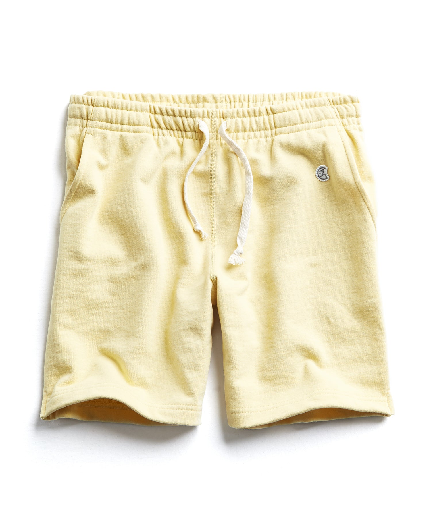 Terry Warm Up Short in Fresh Lemon