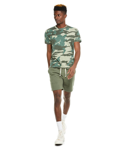 Terry Warm Up Short in Olive Grove