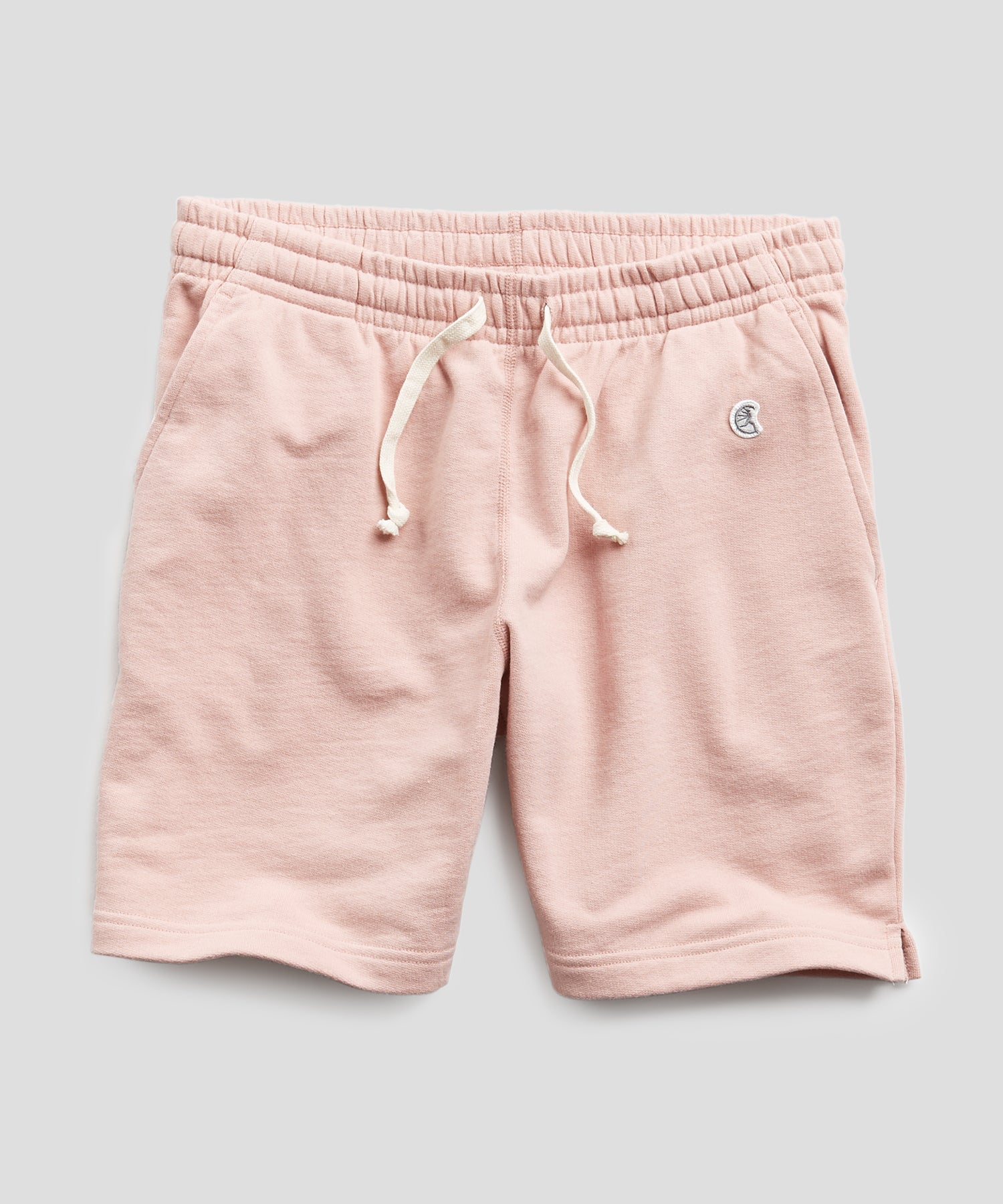 Terry Warm Up Short in Desert Rose