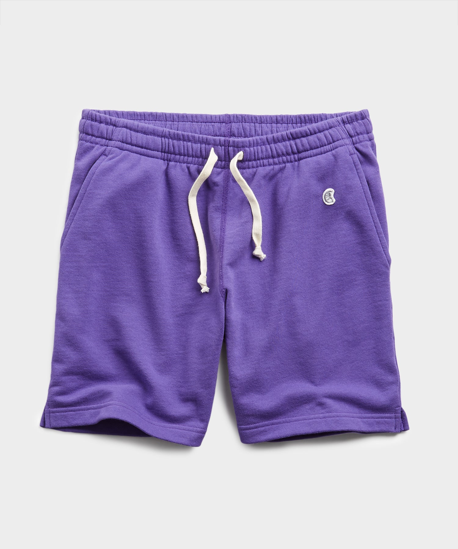 Terry Warm Up Short in Royal Purple