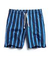 Stripe Warm-Up Short in Navy