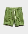 Lightweight Warm Up Short in Guacamole