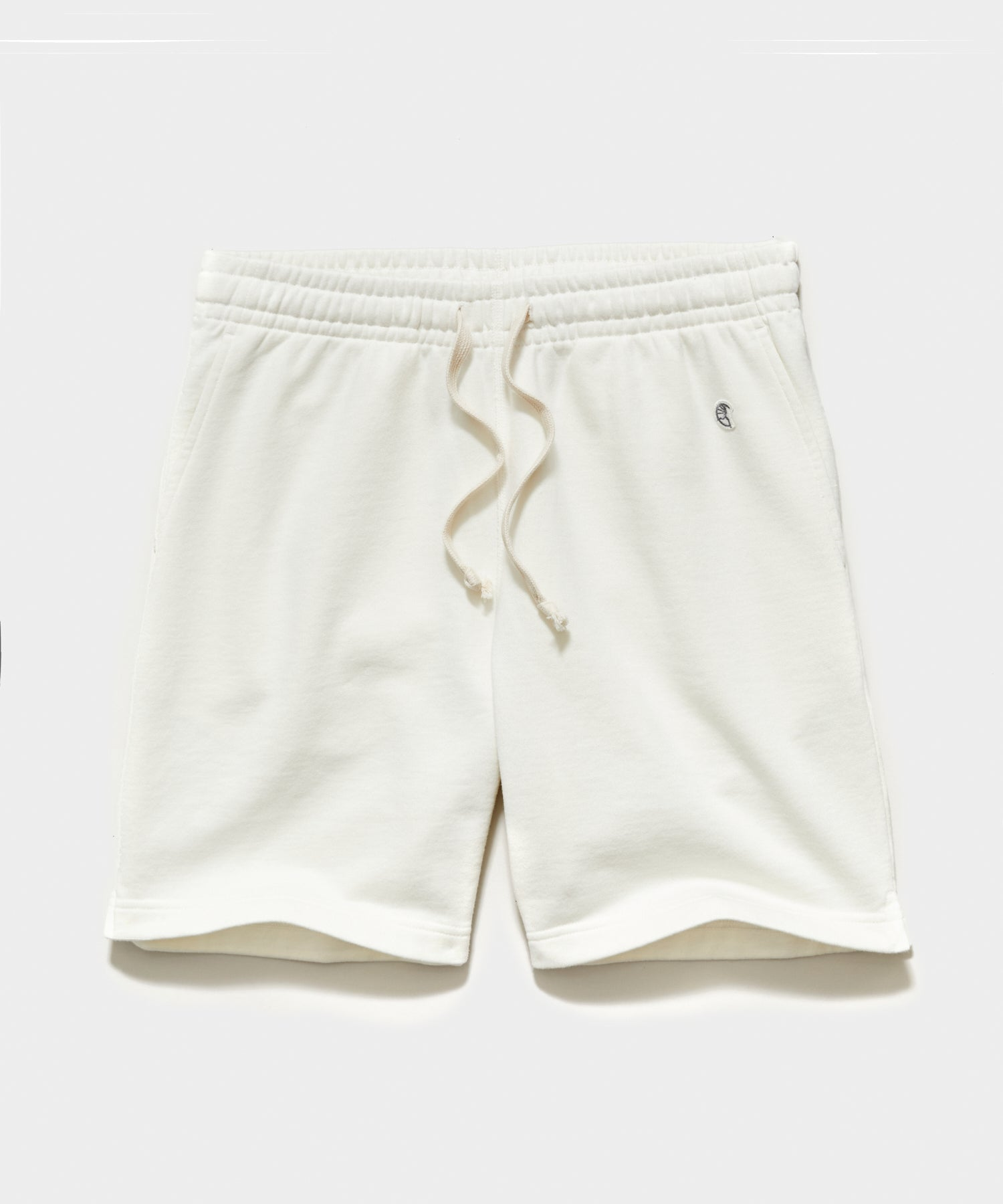 "7"" Midweight Warm Up Short in Antique White"
