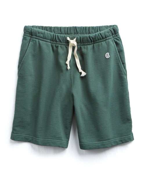 The Warm Up Short In Green