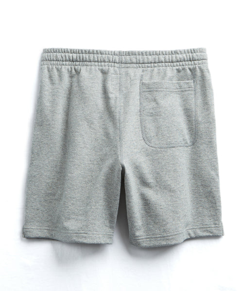 The Warm Up Short In Light Grey Mix