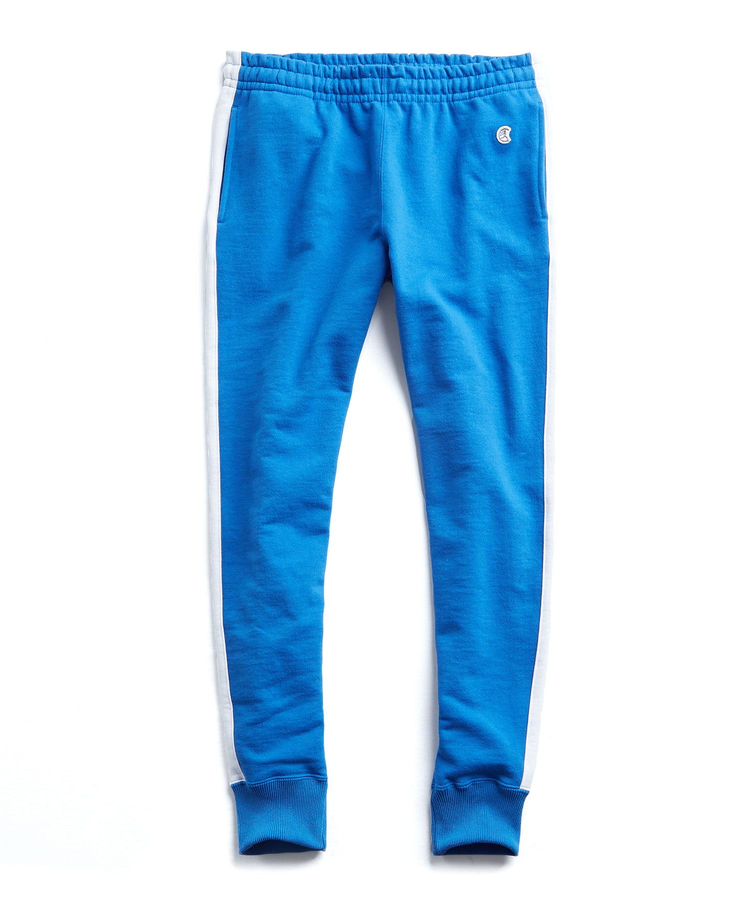 Champion Slim Jogger With Side Stripe in Blue
