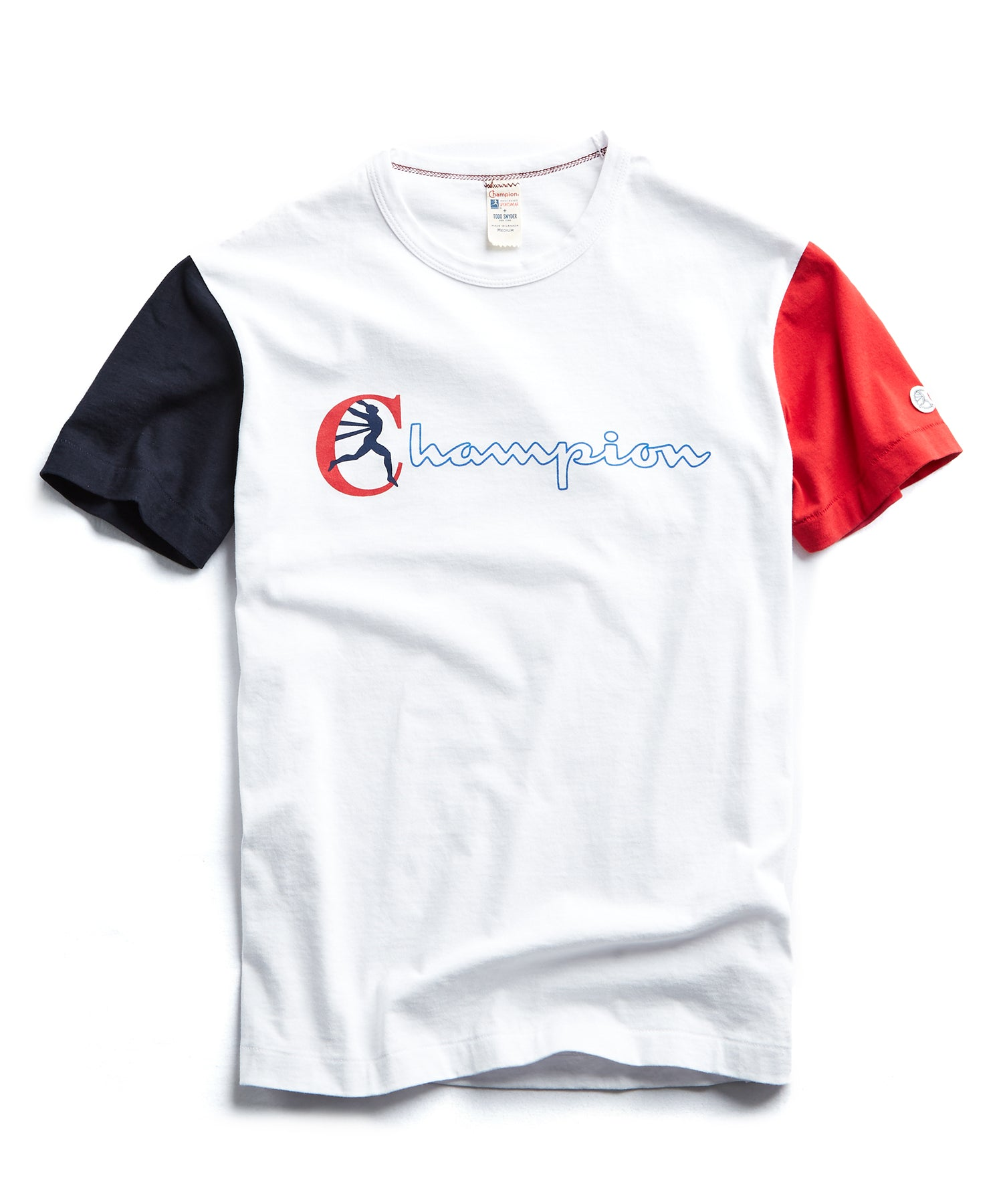 Champion Graphic Colorblock Sleeve T-Shirt