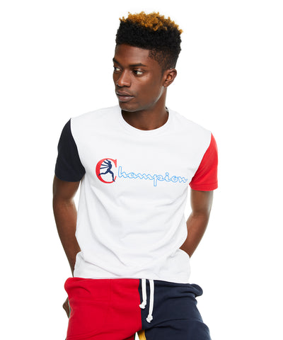 8c2264fe Champion Graphic Colorblock Sleeve T-Shirt. Quick Shop. Todd Snyder +  Champion