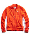 Track Jacket in Sunset Orange