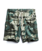 Oversize Camo Warm up Short in Olive Grove Alternate Image