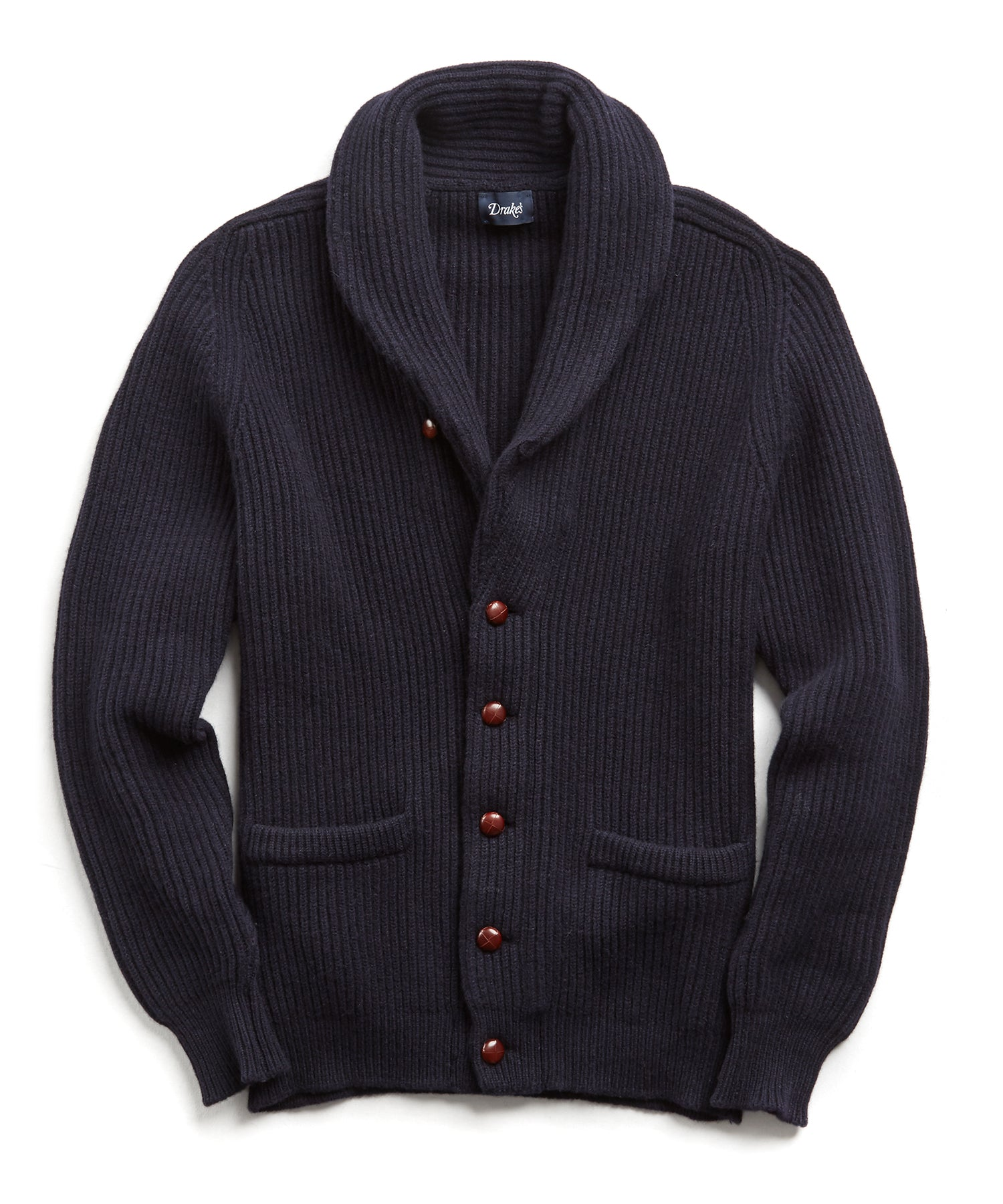 Drakes for Todd Snyder Shawl Collar Cardigan