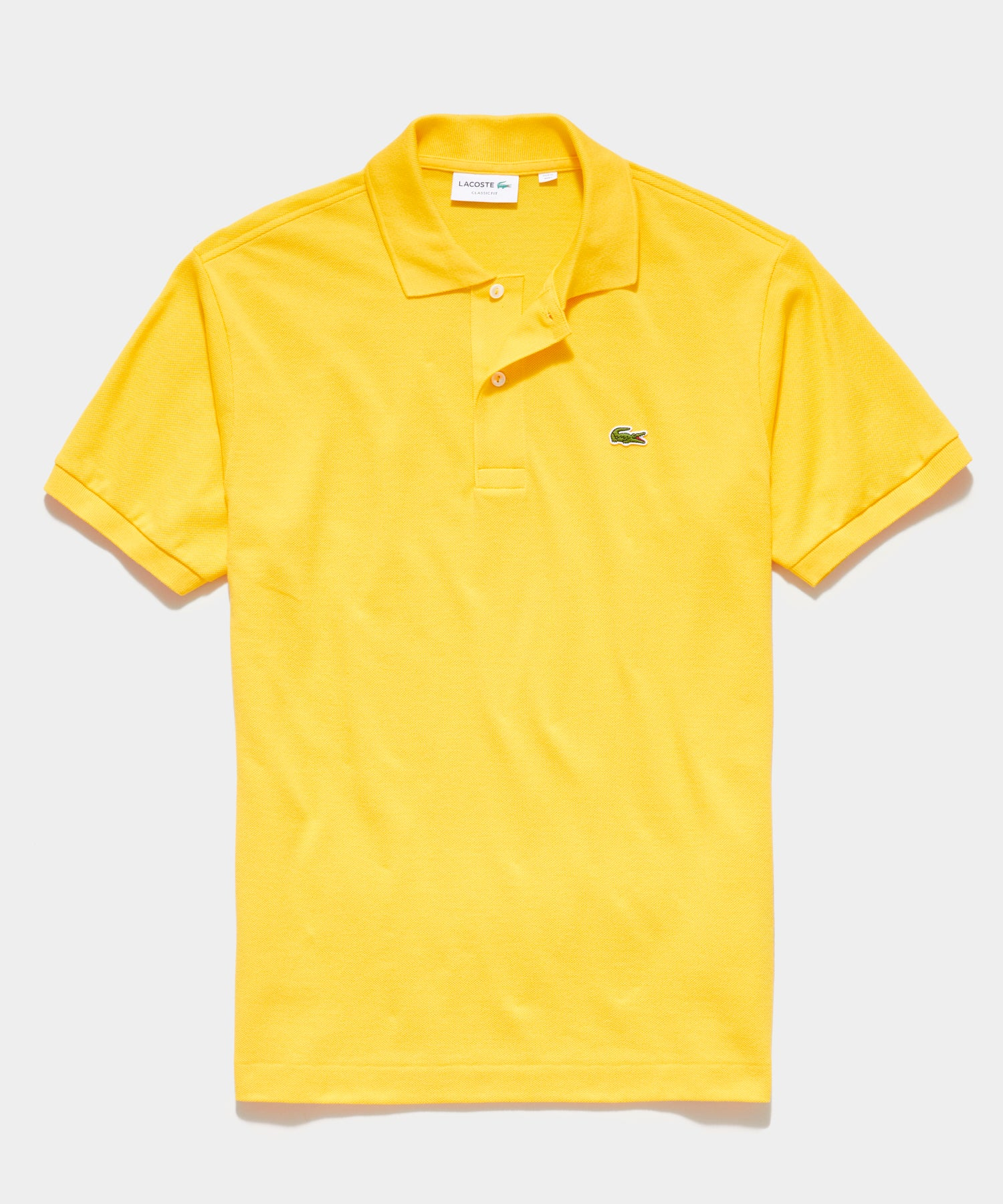 Lacoste Classic Fit Polo in Yellow
