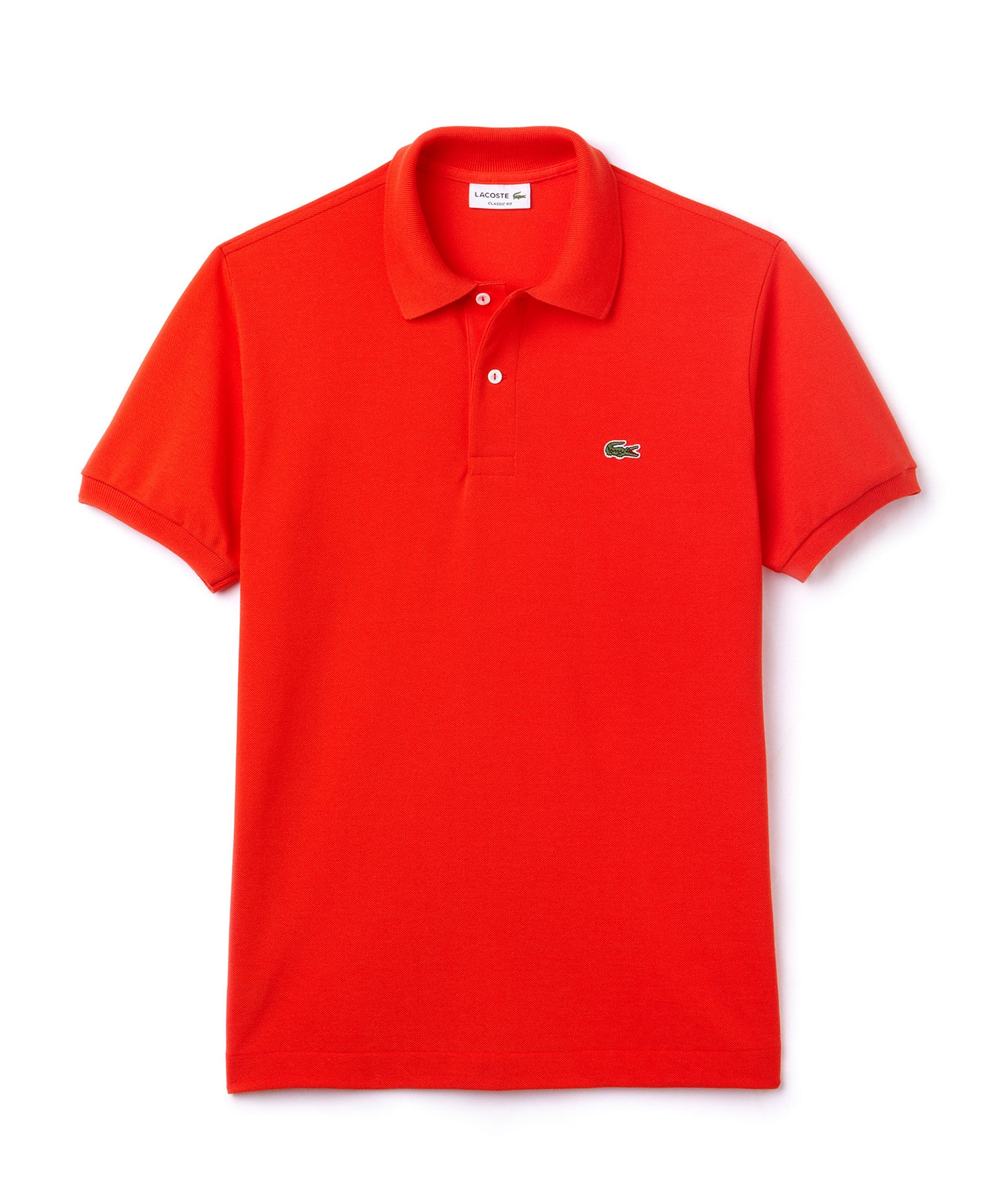 LACOSTE CLASSIC FIT POLO in Red