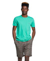 Made in L.A. Slub Jersey Pocket T-Shirt in Argyle Green