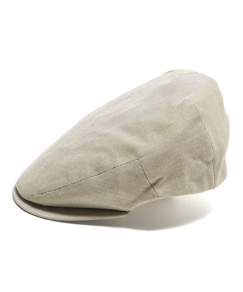 Lock and Co Cotton Drifter Flat Cap In Beige